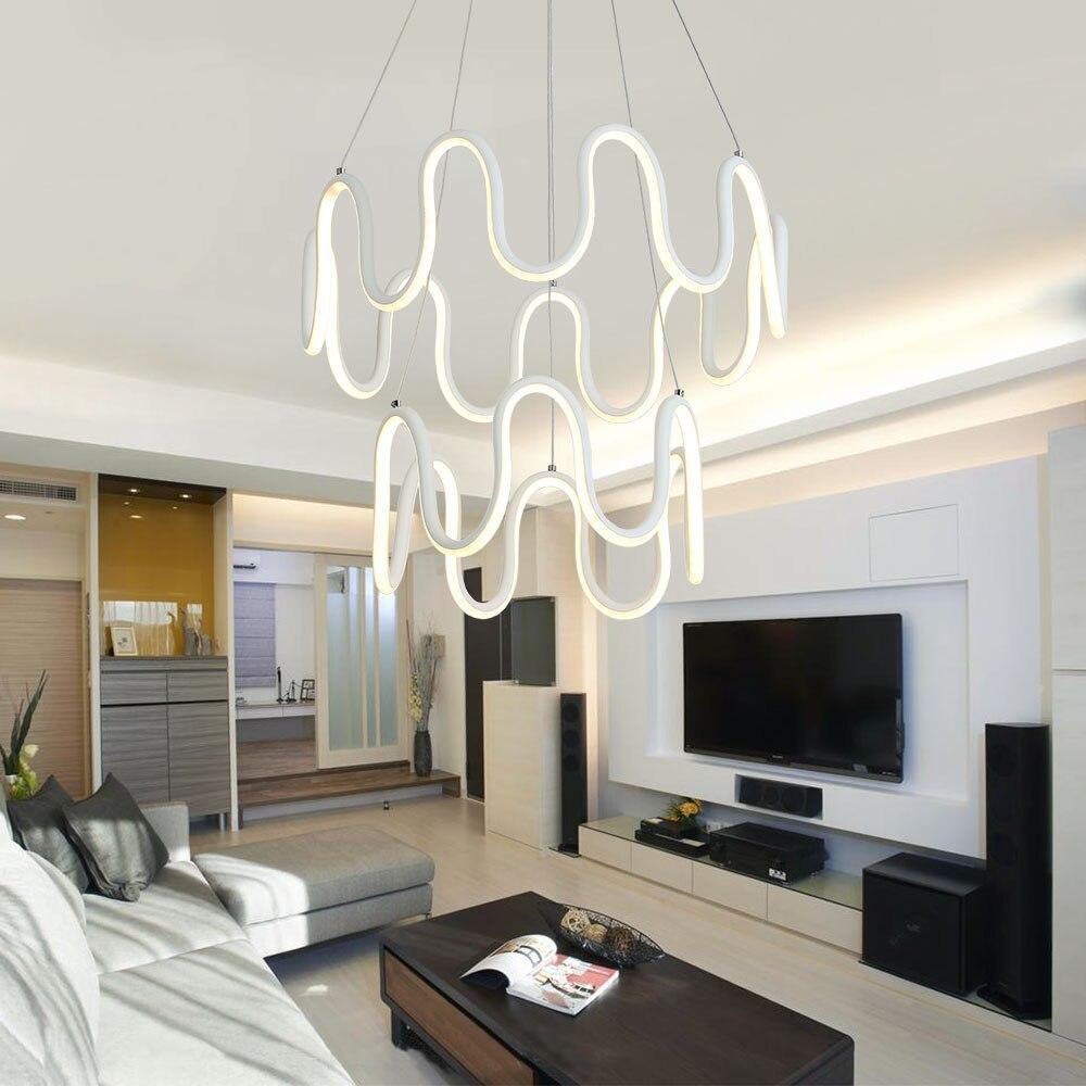 Led Chandelier Lighting Lustre Modern Chandelier Hanging Lamp ...