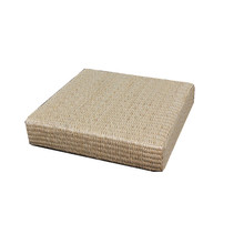 Handmade Grass Square Meditation Cushion Japanese Futon Tatami Straw Seat CushionsThickening Mat
