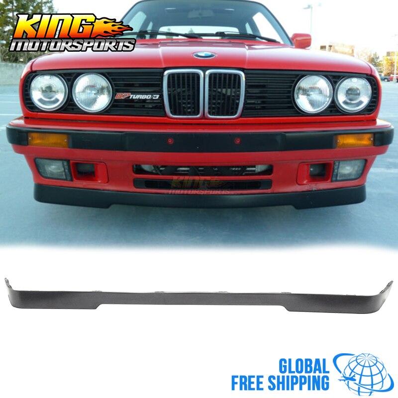 Fits 1984 1992 BMW E30 3 Series Mtech Style Bumper Lip
