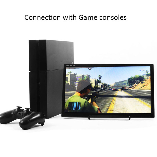 Hfsecurity 17 3 Inch Type C Usb Portable Screen For Ps4 Xbox Car