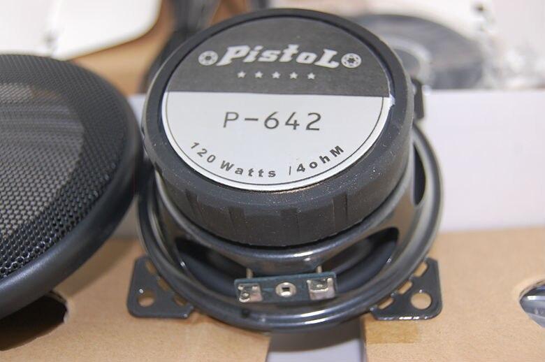 Kiváló hangkocsi Kis hangsugárzó hangszóró P642 mélysugárzó - Autóelektronika - Fénykép 3