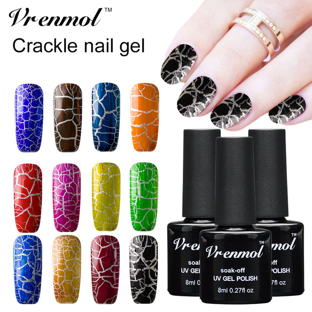 Vrenmol 1pcs 8ml Special Effect Diy Magic Nail Art Ing Uv Gel Salon Polish