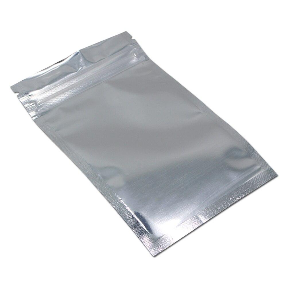 Алюминий Фольга/прозрачный повторно закрываемый клапан молнии Пластик Розничная упаковка пакет мешок замка застежка-молнии Ziplock мешок для хранения образца лавсановая упаковка