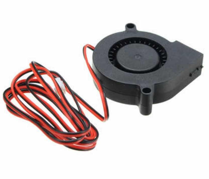 KuaiJieWei 3D impressora Loja DC5V 12 V 24 V Ventilador Ultra Silencioso Turbina Ventilador Pequeno DC 5015 Para 3D placa de Circuito de impressora