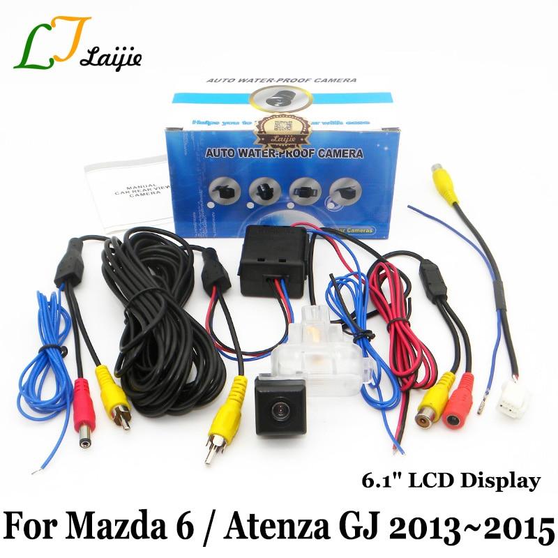 Laijie Achteruitrijcamera voor Mazda 6 Mazda6 Sedan / Atenza 2013 ~ - Auto-elektronica