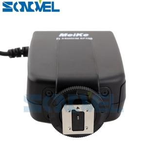 Image 4 - Meike FC 100 FC100 LED Flash Danneau Macro Lumière pour Nikon D4s D5 D3x D500 D600 D800 D810 D750 D3200 D3400 D5600 D5300 D7500 D7200
