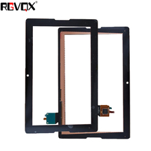 RLGVQDX NEW Touch Screen Digitizer For Lenovo Tab A10-70 A7600 A7600-F A7600-H B0474 10.1 Front Glass Replacement Tablet it baggage чехол для lenovo tab 10 a10 70 a7600 red