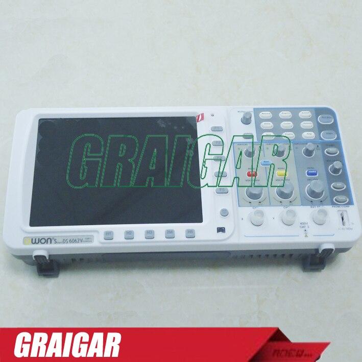 SDS5032EV OWON Oscilloscope USB + LAN + VGA Dual Channels 30MHz Bandwidth 250MS/s