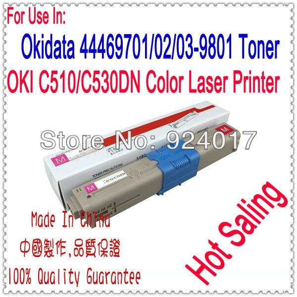 Refill Toner For Oki C510dn C530dn C531dn Printer Laser,For Oki C510 C530 C531 Toner Cartridge,For Okidata 510 530 531 Toner powder for oki data 700 for okidata b 730 dn for oki b 720 dn for oki data 710 compatible transfer belt powder free shipping