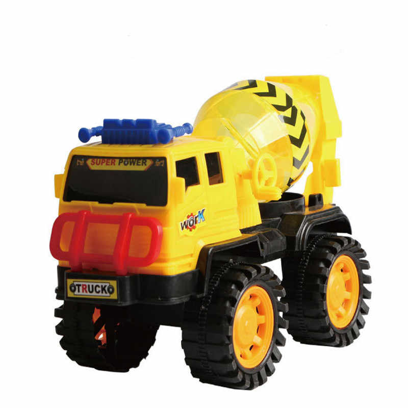 Diecasts Engineering car toys vehicle sliding excavator blender dump truck  model Car Dump Truck Artificial Model Kid boy