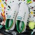 LAS VENTAS CALIENTES del envío libre 2017 Mujeres de la manera zapatos de las mujeres colores mezclados pisos transpirable zapatos de lona casuales para mujer de las zapatillas de deporte