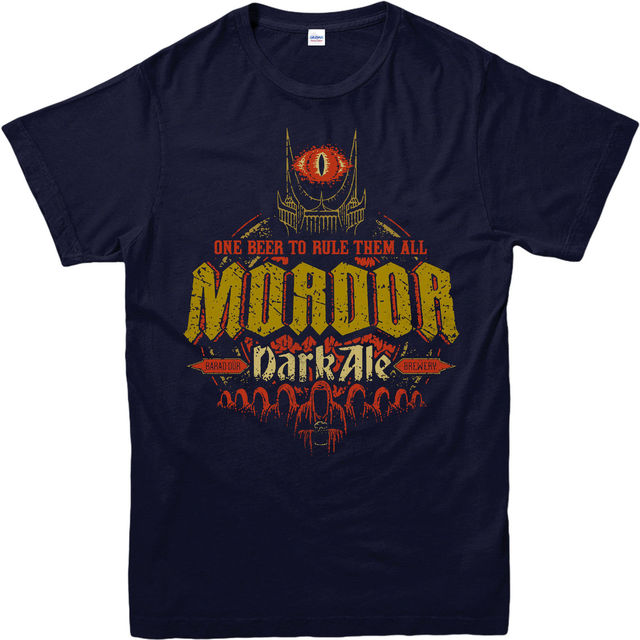 Lord of The Rings T-Shirt Mordor Dark Ale