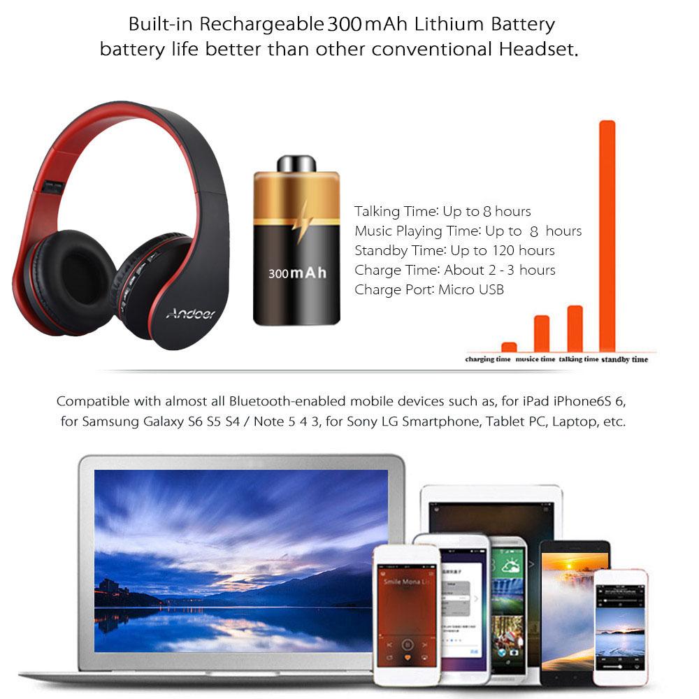 HTB1WvpMSXXXXXaZXXXXq6xXFXXXf - Digital 4 in 1 Andoer LH-811 Stereo Wireless Bluetooth
