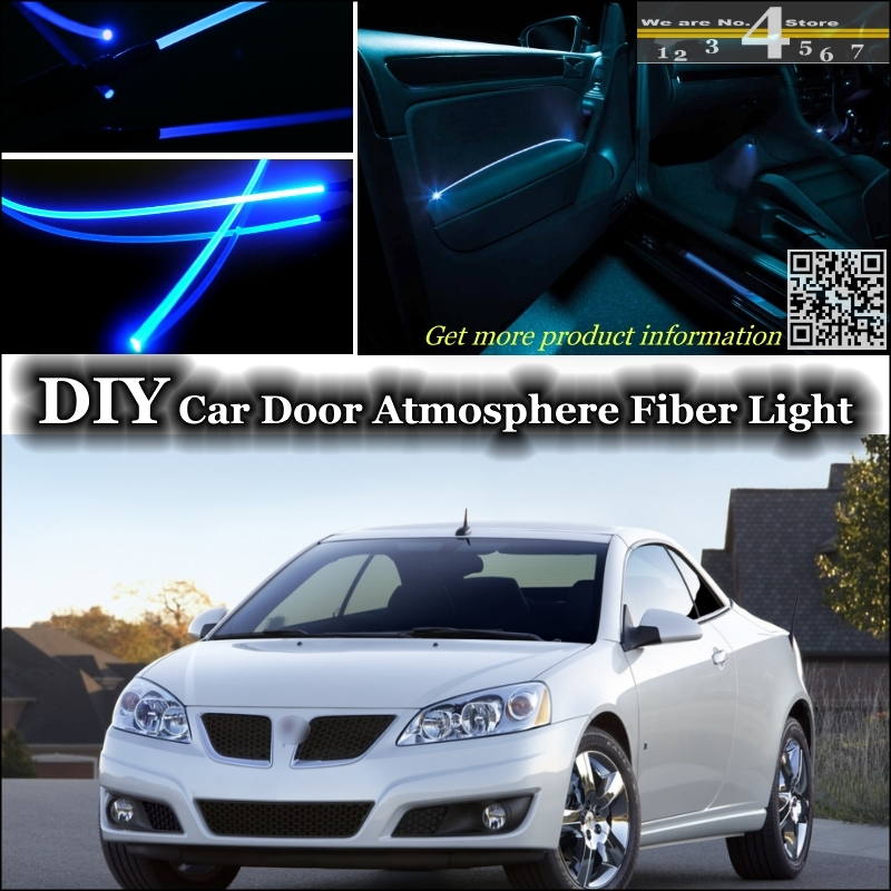 Interior Ambient Light Tuning Atmosphere Fiber Optic Band Lights For Pontiac G6 G8 Inside Door Panel Illumination Not El