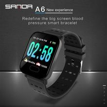 2019 SANDA Smart Watch Bluetooth Multifunctional Heart Rate Pedometer Digital Waterproof Sports Watches Women Mens Smartwatchs цены