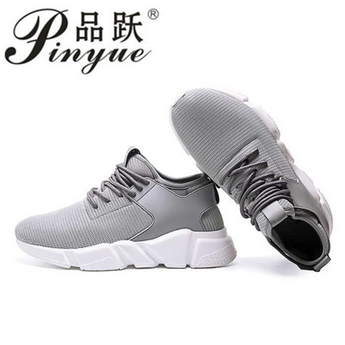 Hot Sale Popular casual shoes for men High Quality Fashion Comfortable Brand Breathable Male Shoes Gray Red black sneakers