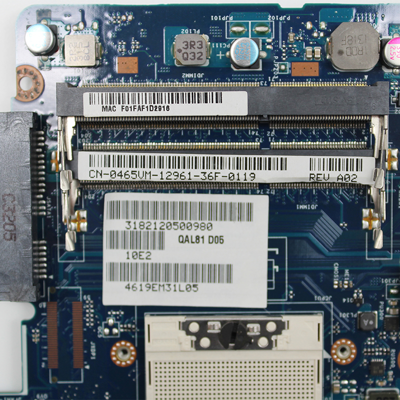 Original For Dell latitude E6430 laptop motherboard MB NVS 5200 1GB QM77 PGA989 DDR3 0465VM QAL81 LA-7782P 100% fully Tested 4
