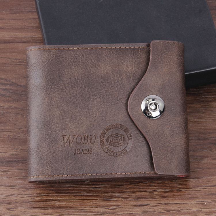Men Wallets Famous Brand PU Leather Wallet Mens Card Holder With Photo Pocket Short Vintage Design Purse For Male SIM card male leather casual short design wallet card holder pocket