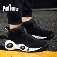 Cushion Basketball Shoes Men Basketball Trainers Comfortable Ankle Boots Chaussures Homme Basket Zapatillas Hombre Calzado Mujer