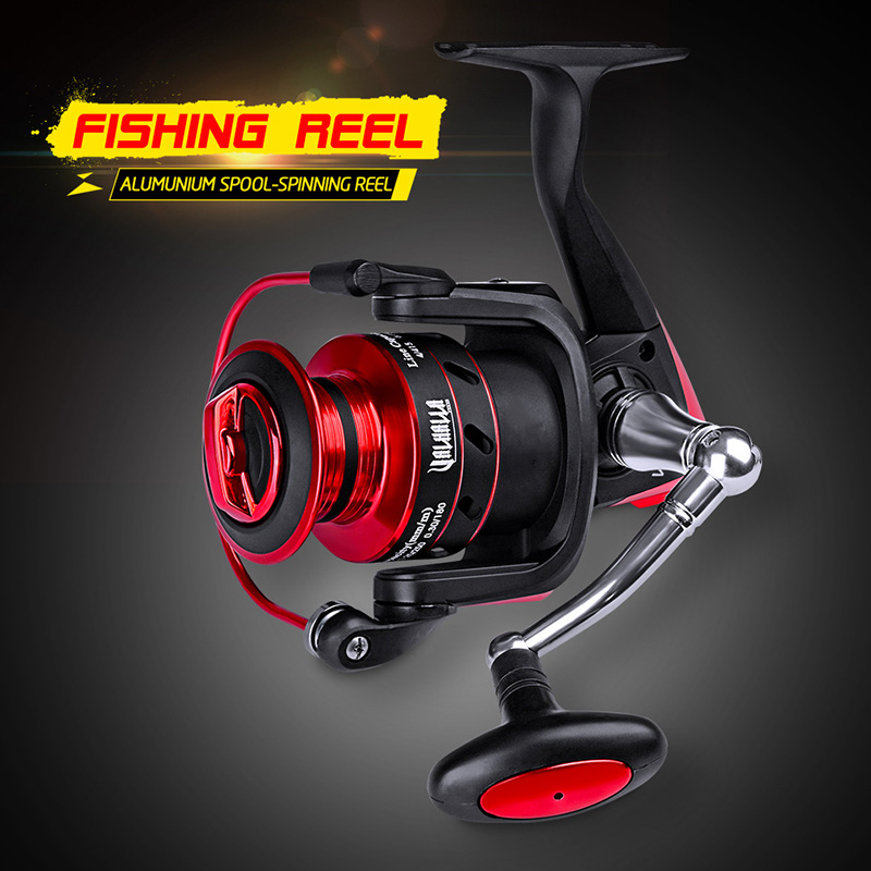 Metal Spin Fishing Reel Fish Wheel Tackle Durable Ball Bearing Accessoies Parts 88 B2Cshop