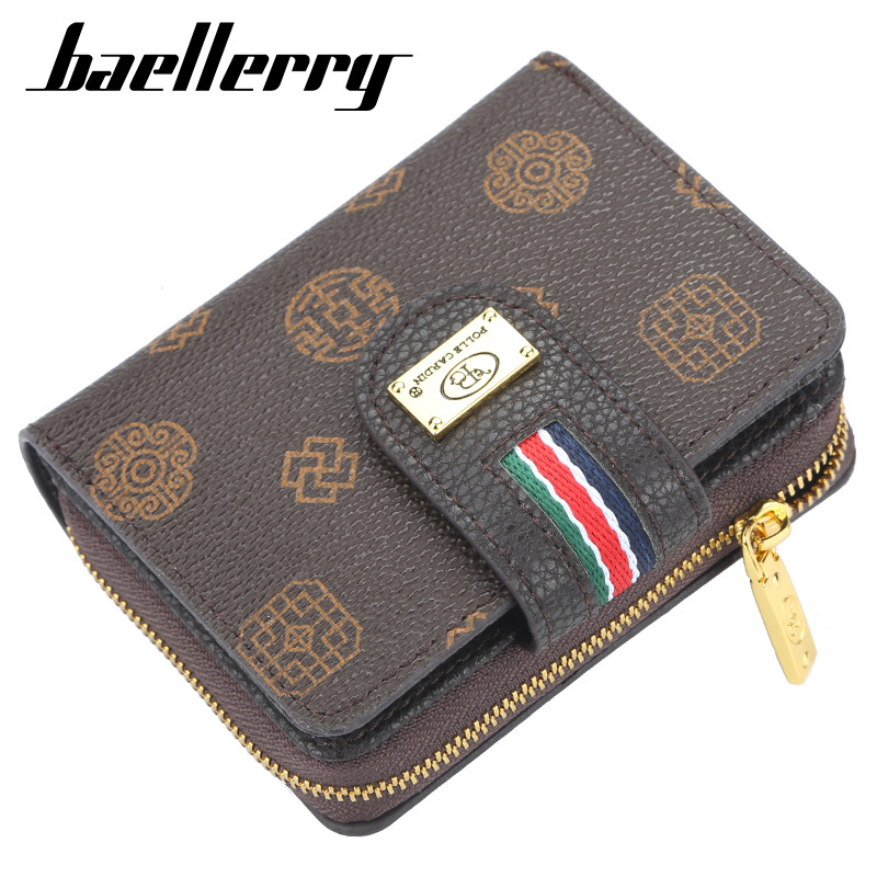 Luxury Brand Women Wallets Fashion Clutch Wallet Classic Hasp Purse Female Zipper Wallet With Coin Pocket Card Holder