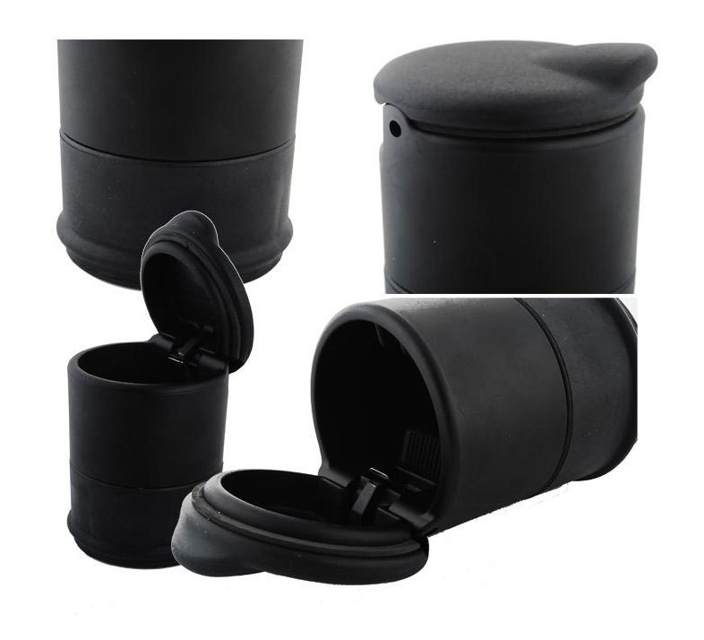 Car Accessories Ashtray Portable Auto/Home/Office Smokeless Cigarette Cylinder Holder Cup - Feel free to shop store