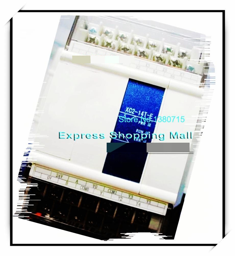 New Original 8point NPN input 6point transistor output XC2-14T-C PLC DC24V 2COM cable free shipping 50pcs new mmbta94lt1g mmbta94 marking code 4d npn transistor sot23