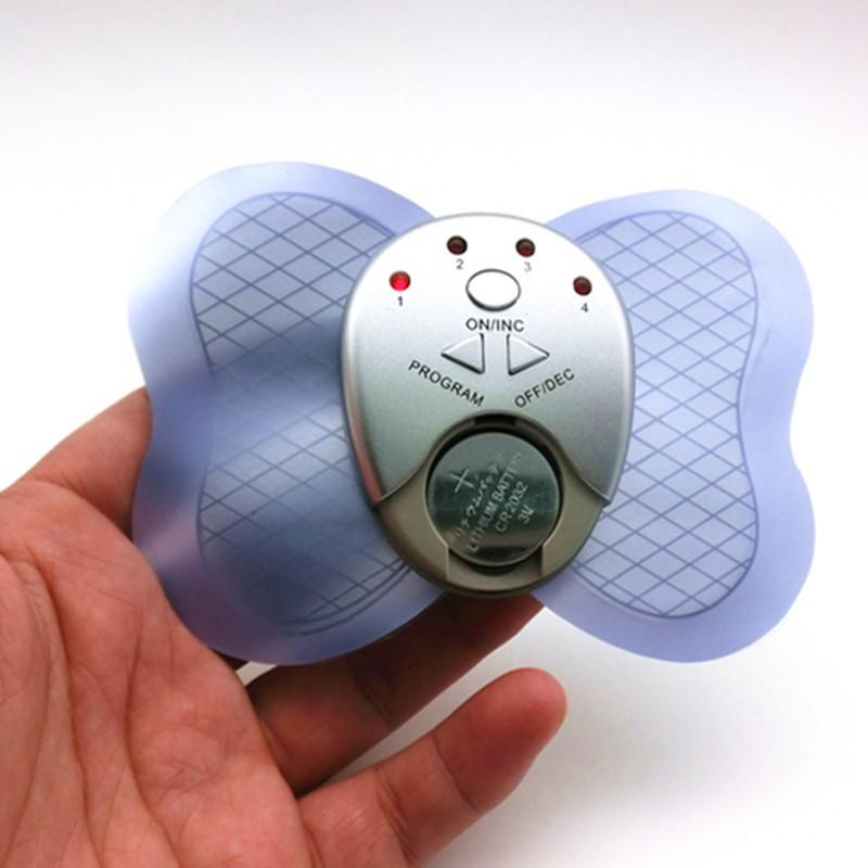 Electronic Mini Electronic Butterfly Muscle stimulator Massager Slimming Body Massage pad (8)