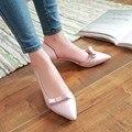 Das Mulheres doces Sapatos Casuais Apontavam Bombas Arco Sapatos Das Mulheres Sapatos de Salto Sy-2275