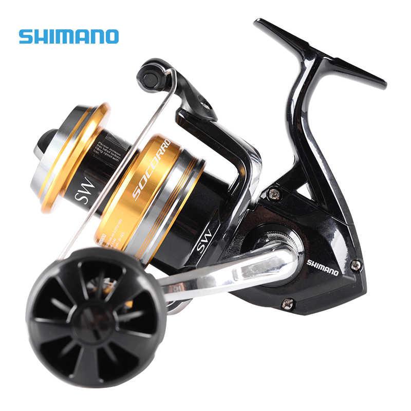 95e129932b7 100% Original Shimano SOCORRO SW 8000 Big Sea Fishing Reel 4+1BB 4.9:
