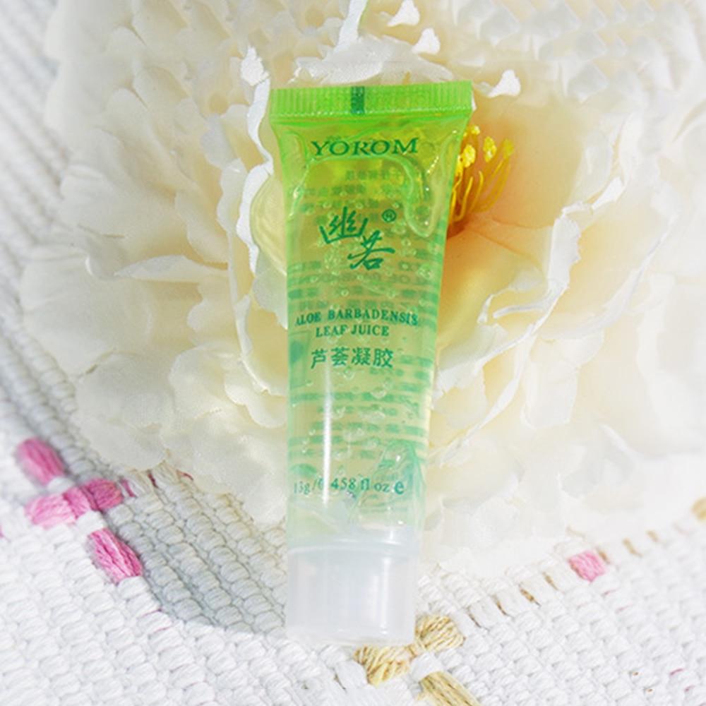10 pz Gel di Aloe vera Riparazione Alleviare Il Prurito Riparazione Segni di Acne Anti-Acne di Sicurezza Bambino Disponibile Vestito Valore Crema TSLM2