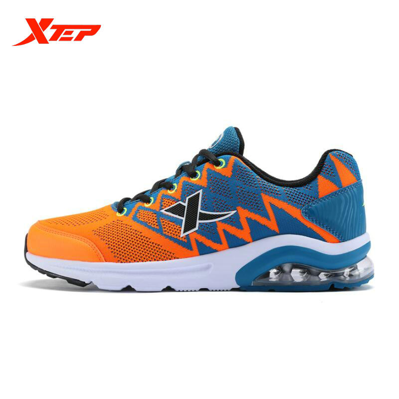 ФОТО XTEP 2017 Flyknit Mens Running shoes Air huarache Men's Sneakers feminino esportivo Outdoor Sport shoes men 984419119383