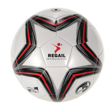 REGAIL 5-point Star Voetbal Game Training Voetbal PU Opblaasbare Voetbal Synthetisch Leder Soft Touch Voetbal voor Jongere Tiener(China)
