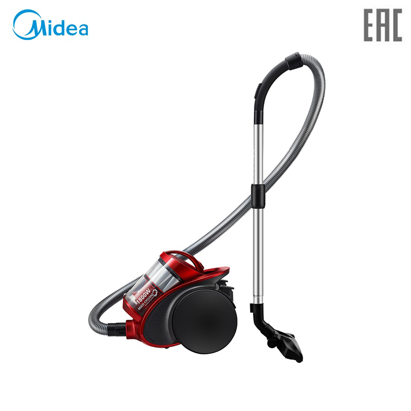 Vacuum Cleaner Midea VCM38M1 bagless canister with 1800W power and large suction power midea vcb40a14d b bagged canister with 1800w power and big suction power washable and recycling microfiber dust bag
