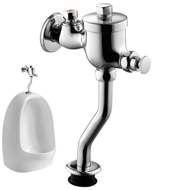 Toiletten & Toiletten-teile Badezimmerarmaturen Aufstrebend Urinal Hand Drücken Typ Messing Flush Ventil Zeit Verzögerung Wasser Einlass Ventil HöChste Bequemlichkeit
