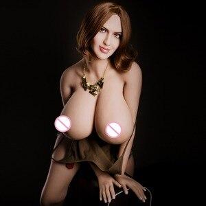 Image 3 - Ailijia 170cm 153 # grandezza naturale bambola Del Sesso pieno TOP TPE con lo scheletro bambola di amore seno grande del corpo per luomo di giocattolo del sesso