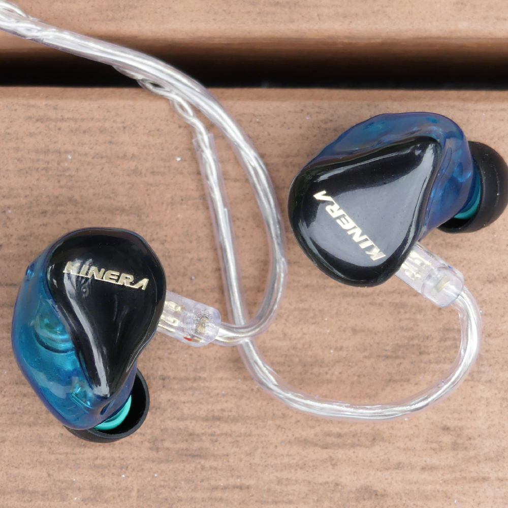 KINERA H3 2BA With Dynamic Hybrid 3 Unit In Ear Earphone HIFI Earphone Earbud Headset Monitor Earphone Detachable 2Pin Cable 100% new kinera h3 music earphones high quality hifi in ear headphones 2ba 1d hybrid dynamic balanced armature monitor headset