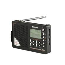 Новый TECSUN PL-505 Полный диапазон Цифровой Демодулятор Стерео Радио FM Высокая Чувствительность Портативный ЖК-Дисплей Музыкальный Плеер Радио Черный