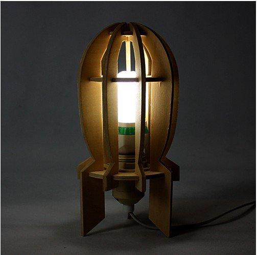 Aliexpress.com : Buy GEEK DIY Wooden bomb desk lamp (Adjustable ...:GEEK DIY Wooden bomb desk lamp (Adjustable), gift,Lighting