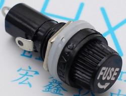 10pcs lot 5 20mm glass fuse holders 5x20 black insurance tube socket fuse holder for 5.jpg 250x250