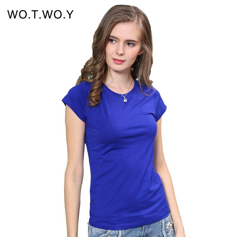 High quality 18 color s 3xl plain t shirt women for Womens white shirts high quality