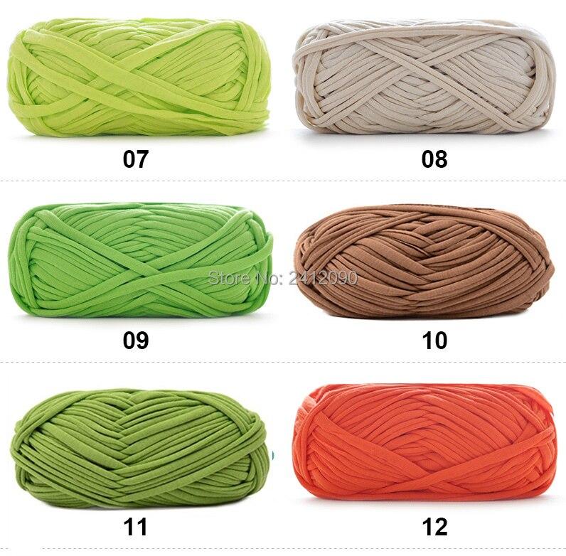 4 Stücke Dickes Tuch Stoff Streifen Garn Diy Teppich Teppiche Korb