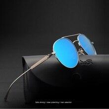 width-145 New Driving Sunglasses Men Polarized Retro Driver Anti-Reflective UV400 male hipster Pilots Sun glasses Mirror oculos
