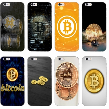 bitcoin coins Silicone TPU Soft phone case For Apple iPhone 4 4s 5 5s 5c SE 6 6s plus 7 7plus 8 8plus X