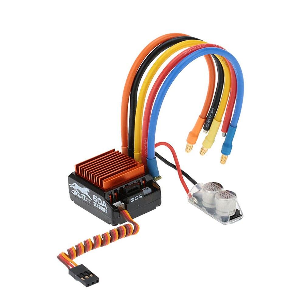 SkyRC 1870KV 17.5 T 2 P Sensori Per Motore Brushless + CS60 60A Sensored Brushless ESC + Carta di Programma del LED Combo set per 1/10 1/12 RC Auto-in Componenti e accessori da Giocattoli e hobby su  Gruppo 2