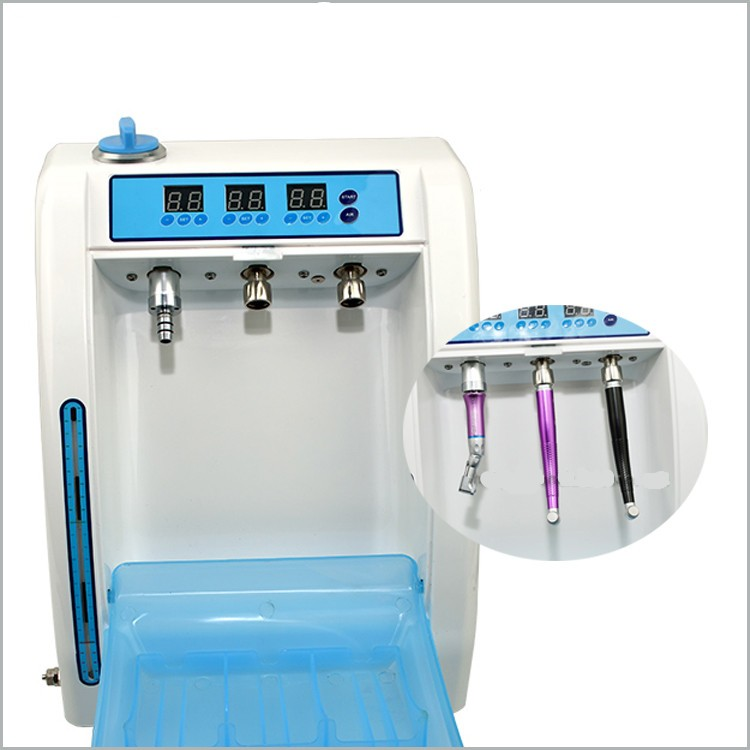 High Quality 2017 New Arrival dental handpiece oiling cleaning machine Dental Cleaner Cleaning System Oil Machine