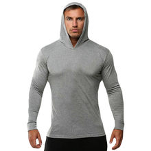 FEITONG Mens Pure Color Sport Pullover Long Sleeve Hooded Sweatshirt parkas winter man Tops #Y40(China)