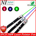 2016 Super Powerful 5MW Red Green Blue Laser Pointer Pen Beam Light Lanterna Style Military Grade Caneta Laser Verde