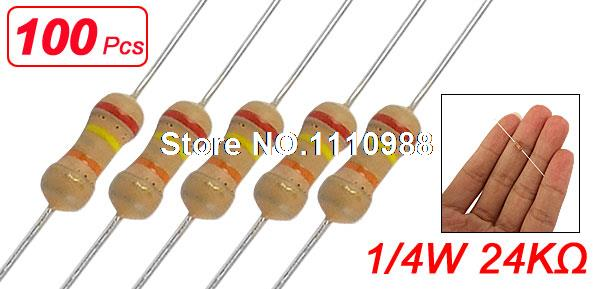 680K 1//4W 5/% Carbon Film Resistor Non-Rohs 100pcs