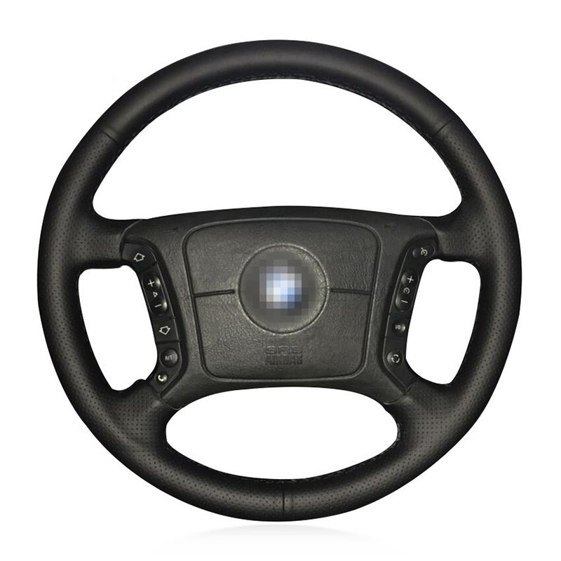 DIY Steering Wheel Covers for BMW E46 318i 325i E39 E53 X5 Extremely soft Leather braid on the steering wheel